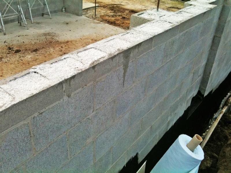Reinforced Concrete Block Walls Island Block Amp Paving