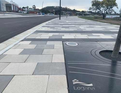 Pavers for the Future at Legana Town Centre Plaza