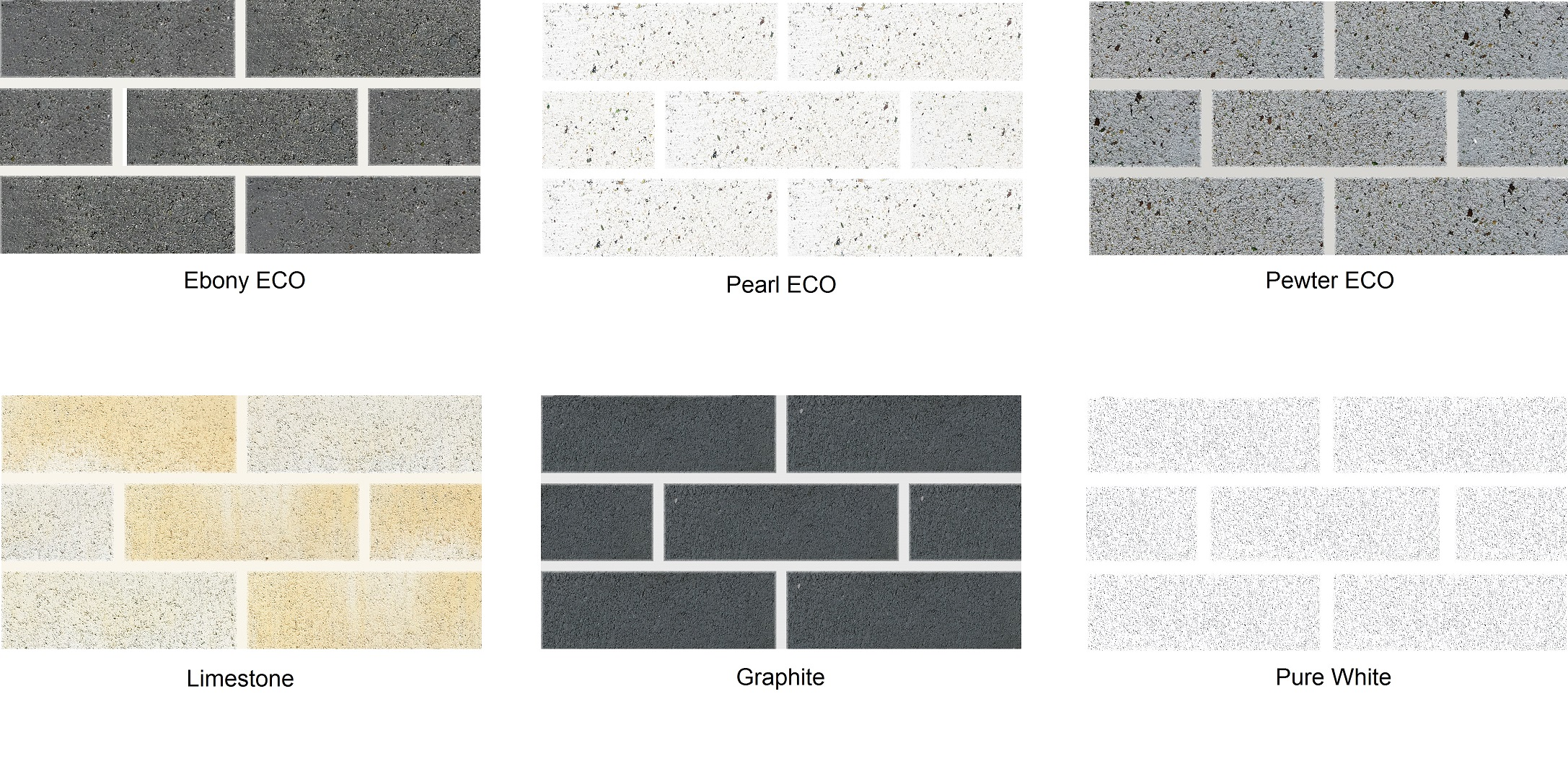 Blocks for the Future Standard Colour Swatches